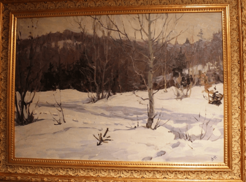 """The painting """"MARCH"""". Zholtok V. K. - photo 2"""