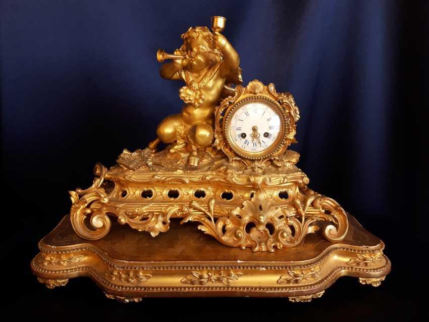 Часы Georges Emile Henri Servant (1828-1890). - photo 1