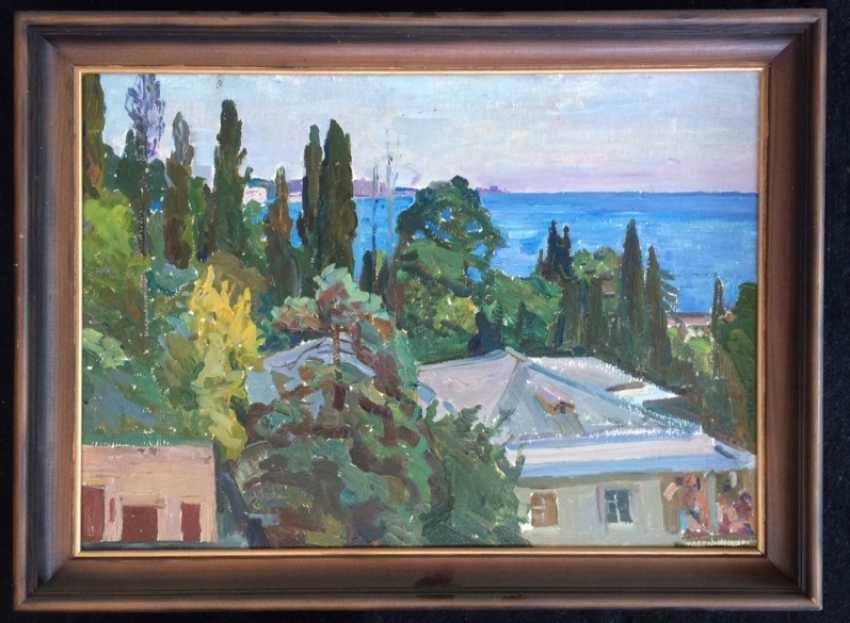"Crealev P. S. - ""Cypresses"" - photo 1"