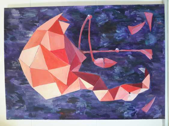 Maria Banachewicz. Dream pink Flamingo origami - photo 1