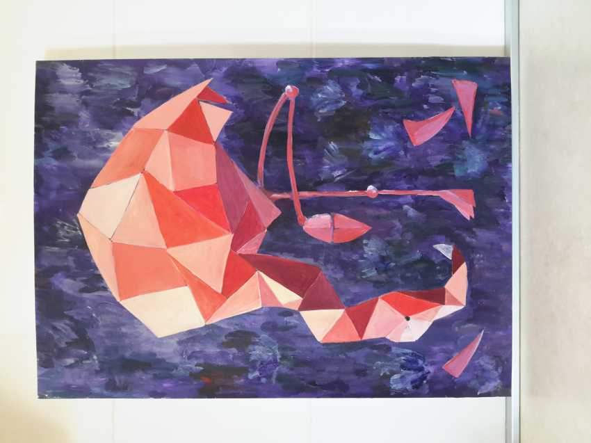 Maria Banachewicz. Dream pink Flamingo origami - photo 2