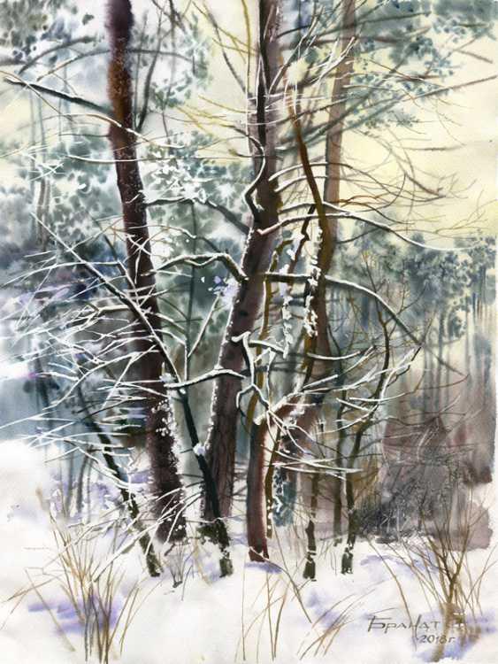 Sergey Brandt. Winter - photo 1