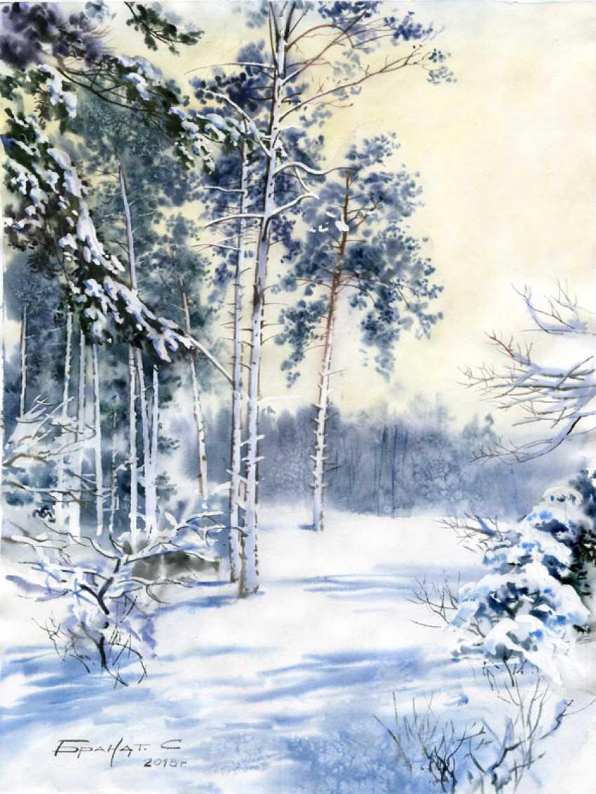Sergey Brandt. Winter, near Kiev - photo 1