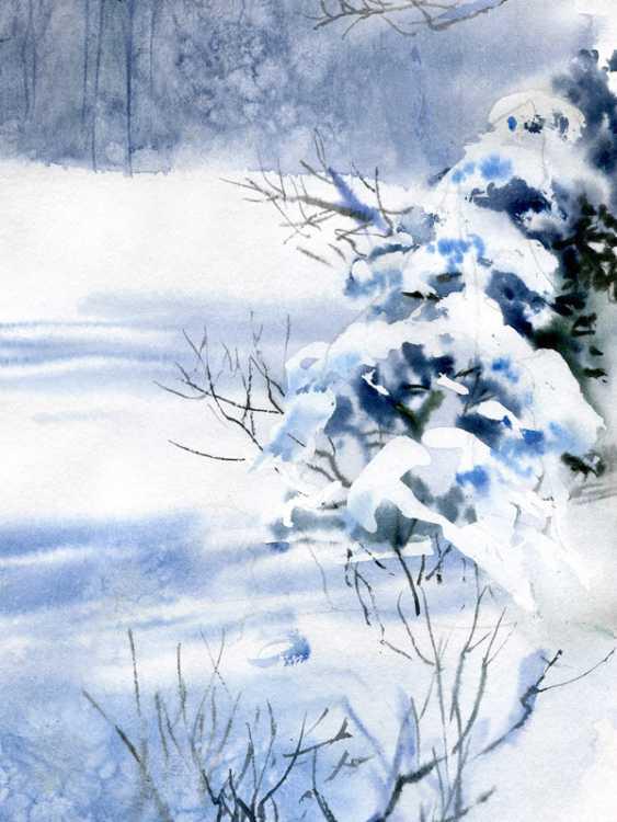 Sergey Brandt. Winter, near Kiev - photo 3