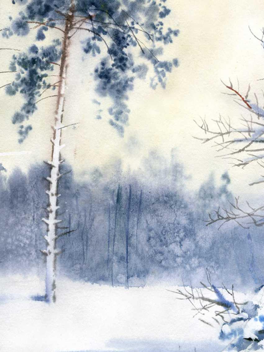 Sergey Brandt. Winter, near Kiev - photo 4