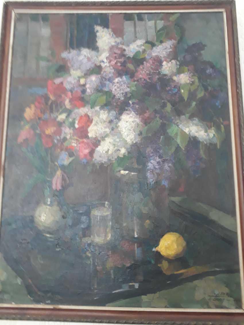 Sebastian Batthyany. Still life with flowers - photo 1