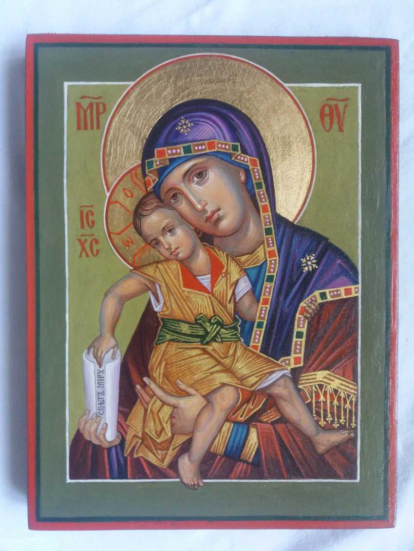 """Slava Nikityuk. The Icon Of The Mother Of God The Merciful Mother Of God Of Kykkos. """"It Is Truly Meet"""" - photo 1"""