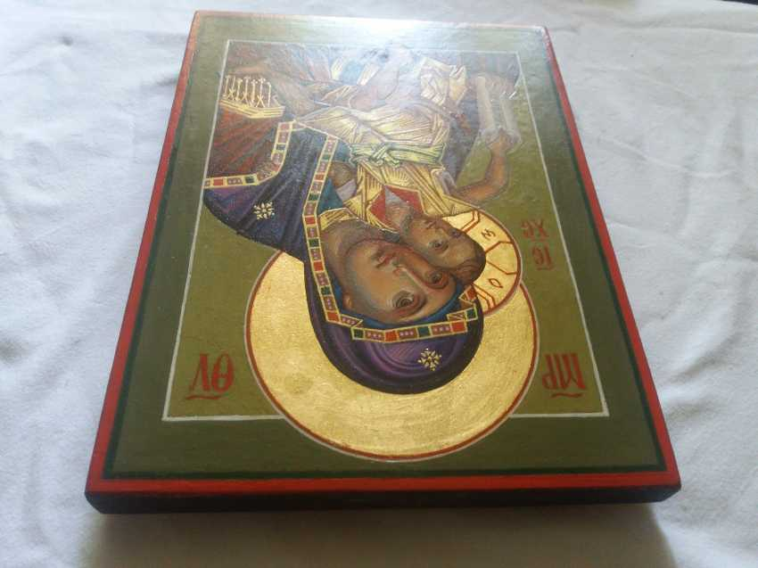 """Slava Nikityuk. The Icon Of The Mother Of God The Merciful Mother Of God Of Kykkos. """"It Is Truly Meet"""" - photo 5"""