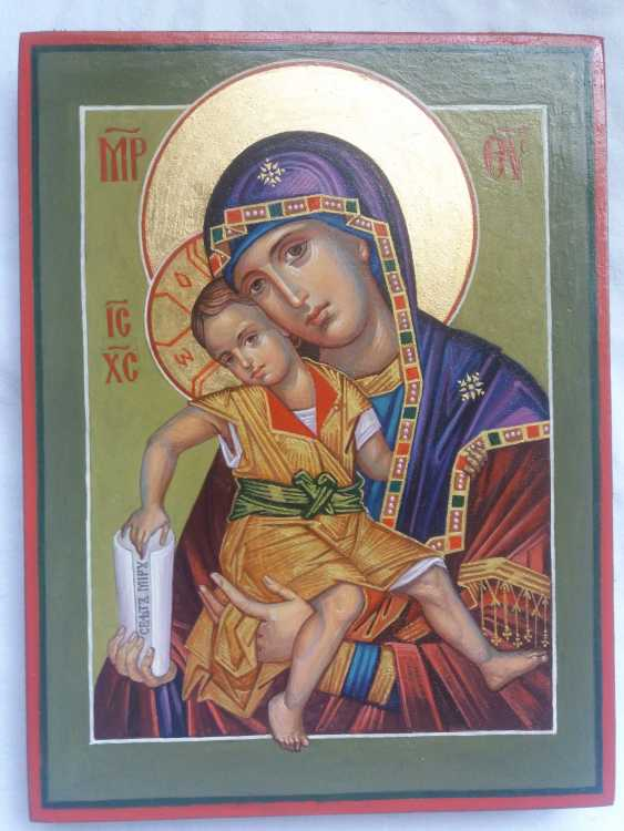 """Slava Nikityuk. The Icon Of The Mother Of God The Merciful Mother Of God Of Kykkos. """"It Is Truly Meet"""" - photo 6"""