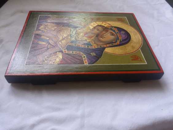 """Slava Nikityuk. The Icon Of The Mother Of God The Merciful Mother Of God Of Kykkos. """"It Is Truly Meet"""" - photo 7"""