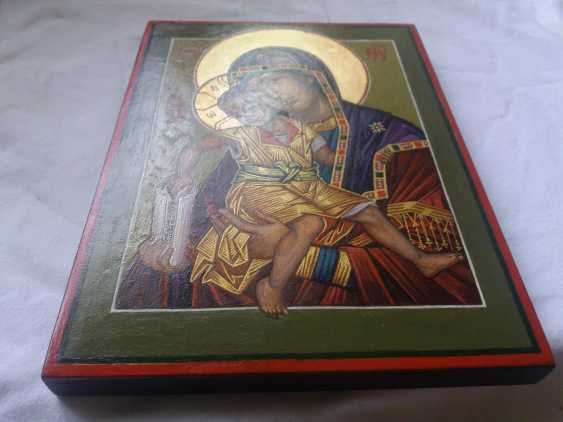 """Slava Nikityuk. The Icon Of The Mother Of God The Merciful Mother Of God Of Kykkos. """"It Is Truly Meet"""" - photo 8"""