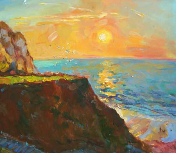 Andrey Mishagin. Sunset in Normandy - photo 1