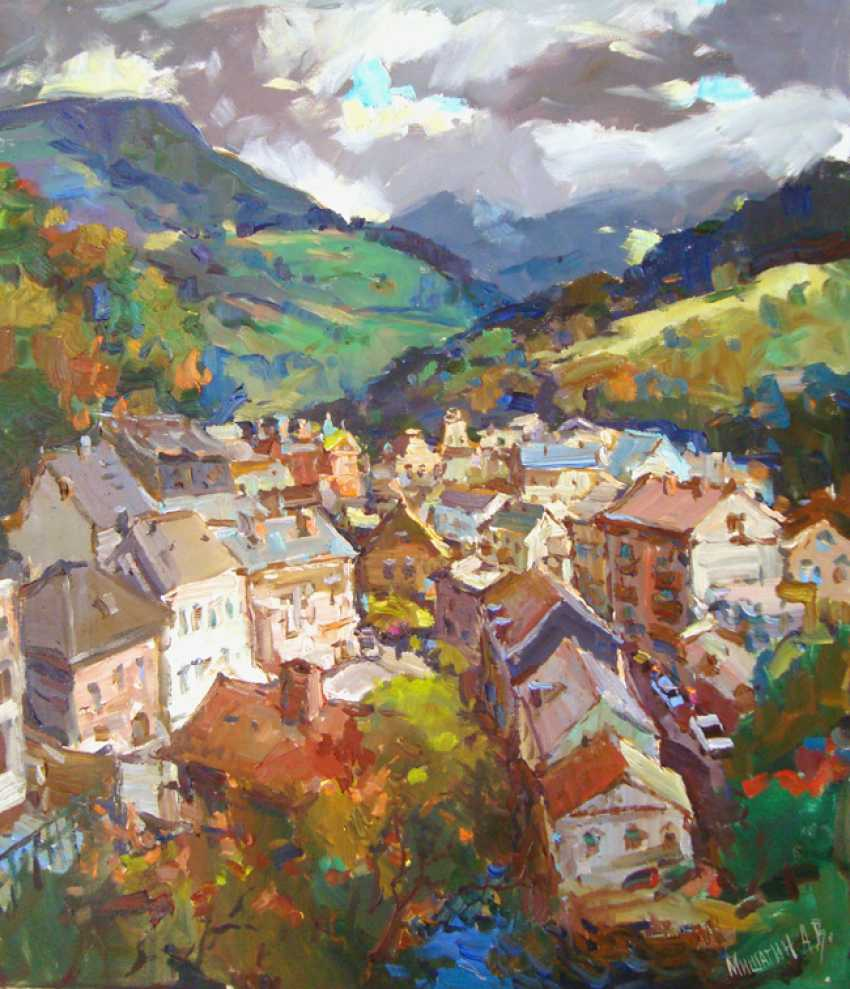 Andrey Mishagin. Mountains.The sky.Town - photo 1