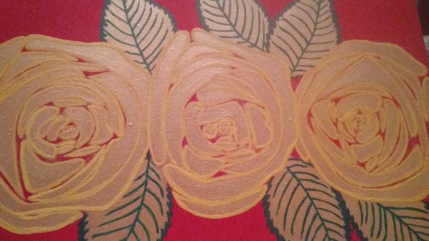 Nataliya Kutikhina (Bronstein). The roses - photo 2