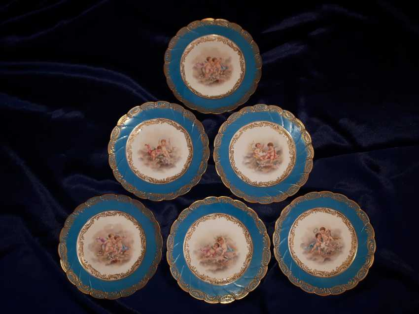 Porcelain coffee set, France of the XIX century. - photo 3