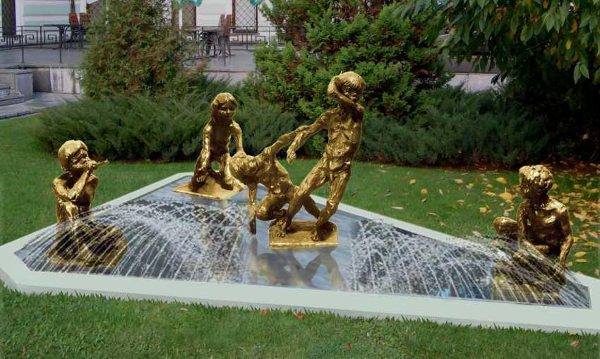 Roman Ruchkin. fontaine/fountain - photo 1