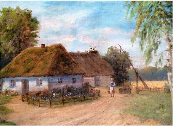 "The Painting ""The Farm"". J. Zakrzewski - photo 2"