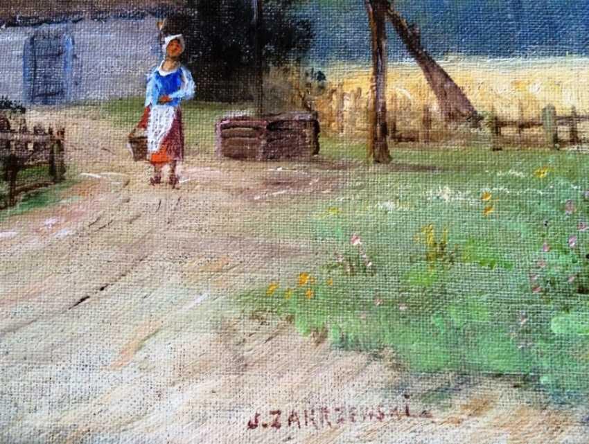 "The Painting ""The Farm"". J. Zakrzewski - photo 3"