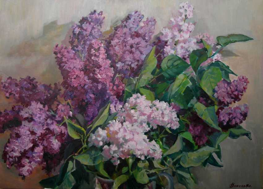 "Olga Nikonova. ""Clusters of fragrant"" - photo 1"