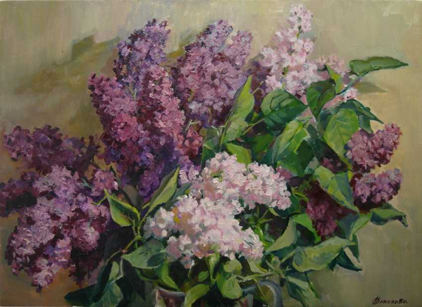 "Olga Nikonova. ""Clusters of fragrant"" - photo 4"