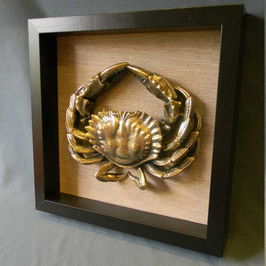 Pavel Zhukovsky. Crab (Wall Mounted Small sculpture) - photo 4