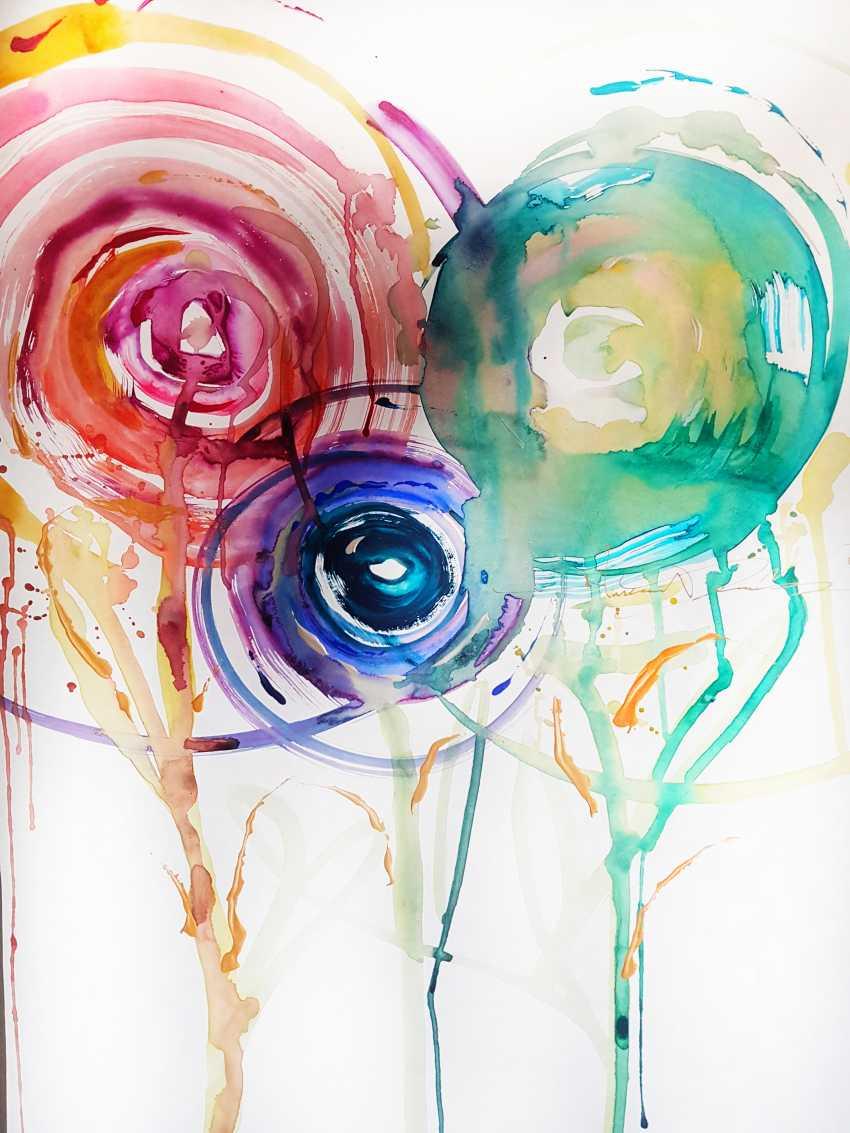 Никита Фомичев. Абстрактные Цветы . - фото 1