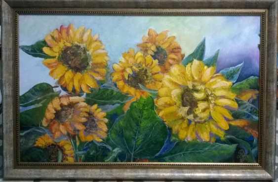 "VOLHA RAMEIKA. 1551. The Painting ""Sunflowers"" - photo 1"