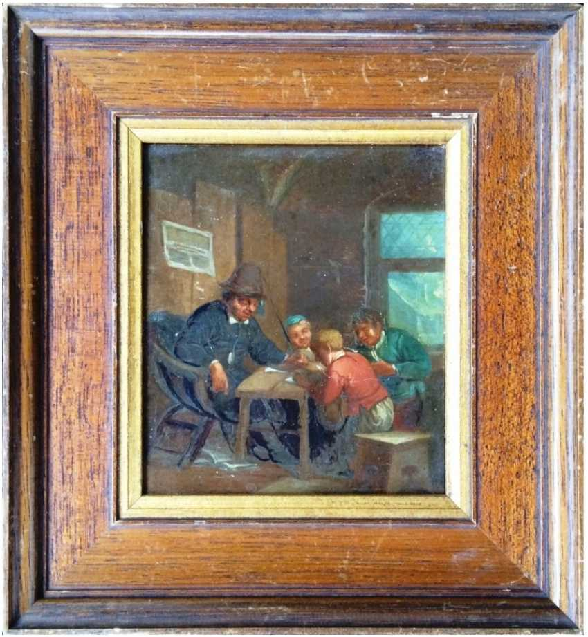 """The """"Lesson"""" Holland. 19th century - photo 1"""