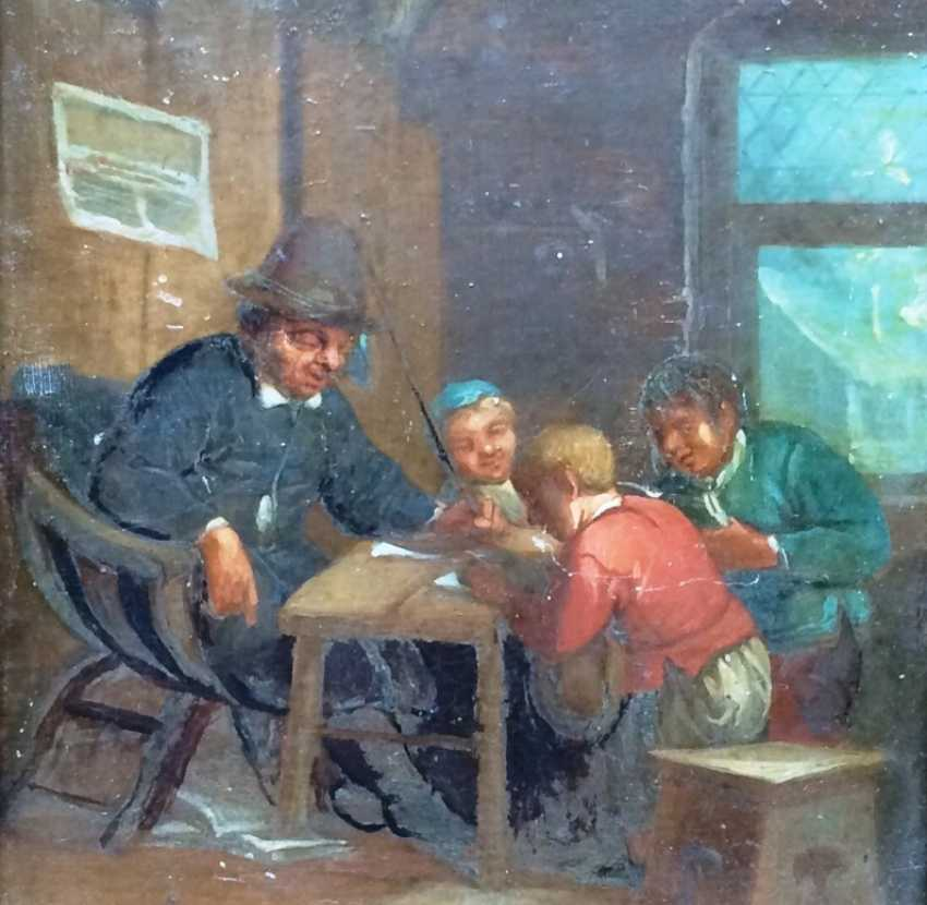 """The """"Lesson"""" Holland. 19th century - photo 2"""