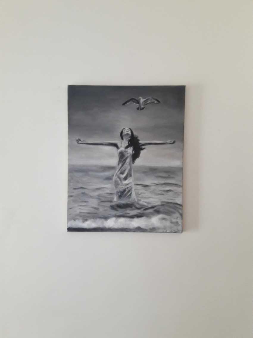 Svitlana Antonova. Girl and Seagull - photo 2