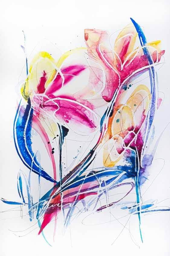 Nikita Fomichev. Abstract Flowers. - photo 1