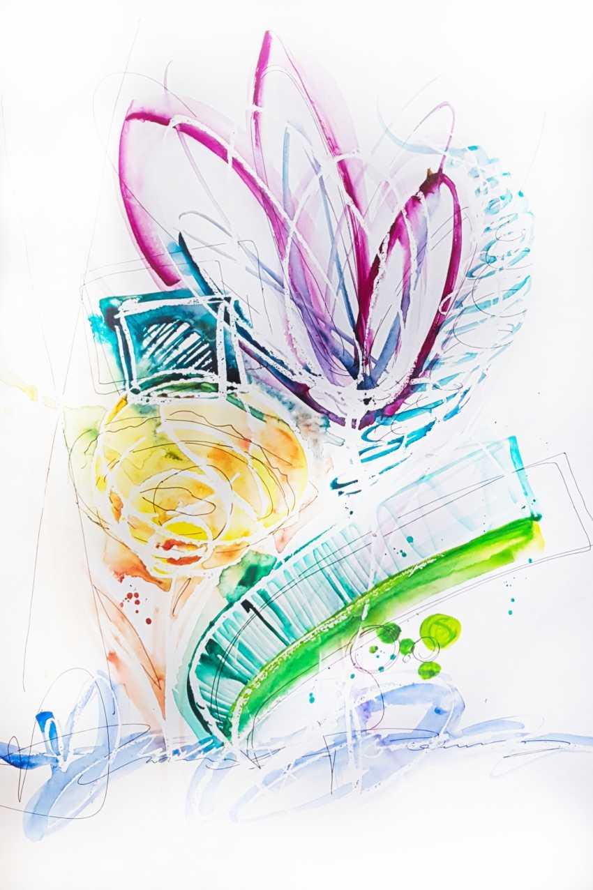 Nikita Fomichev. Abstract Flowers - photo 1