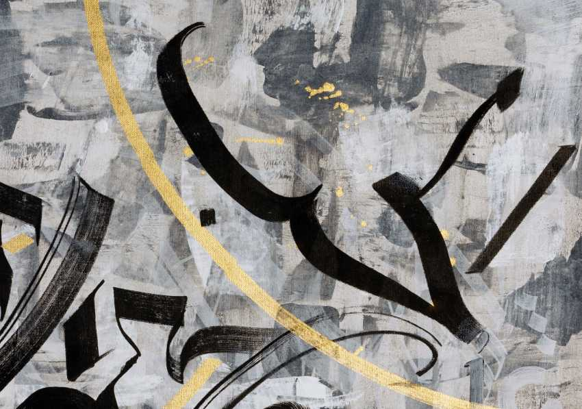 Vera DG. Calligraffiti «Liebe über alles» - Foto 3