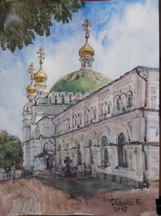 Elena Didenko. Kiev. Laurel.Refectory Church - photo 1