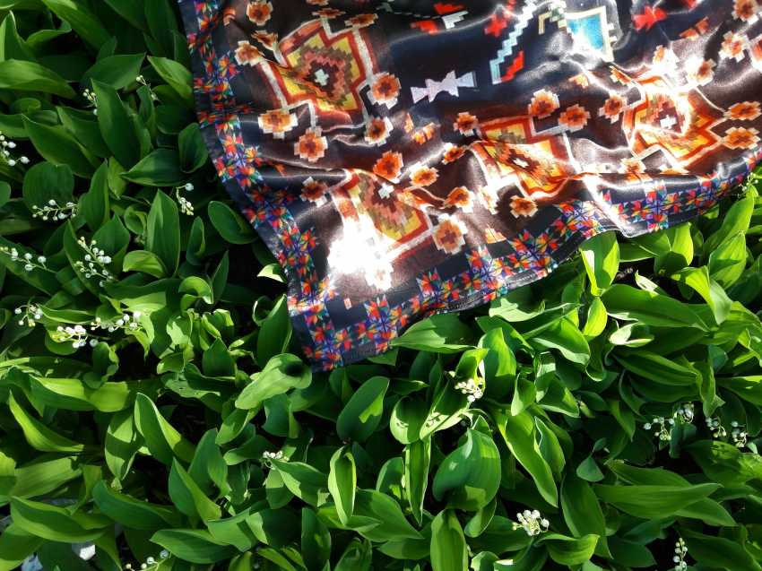 Natalia Vavilina. Author's shawl. - photo 2
