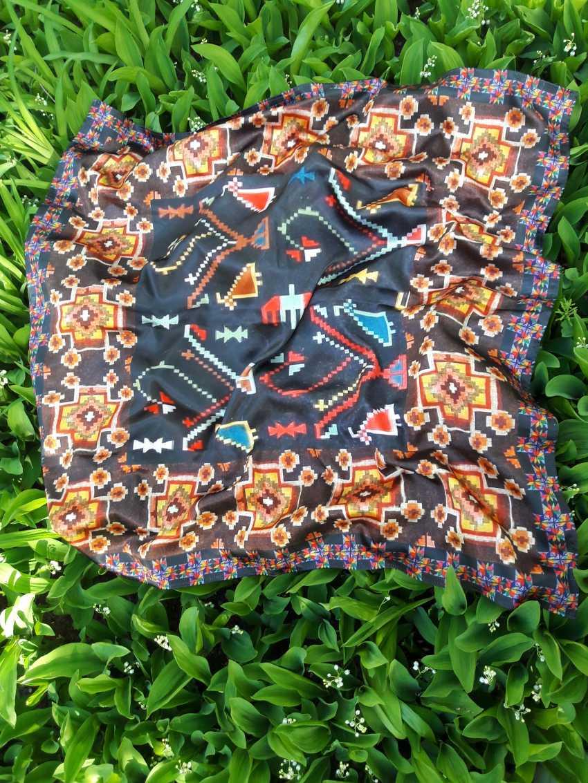 Natalia Vavilina. Author's shawl. - photo 3