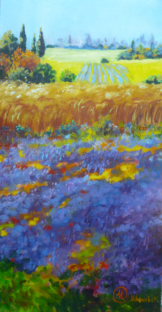 Marina Ivanova. cornflowers - photo 1