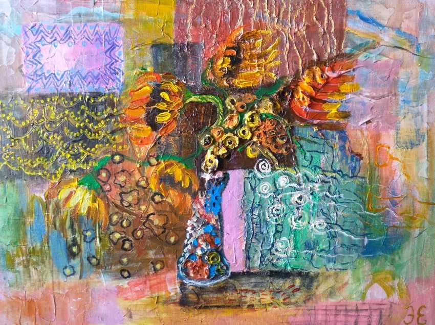 Evgenia Erkenova. Sunflowers - photo 1