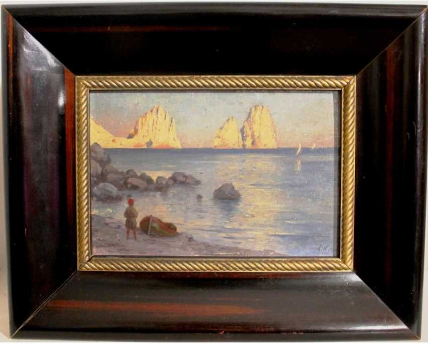 "The Painting ""Capri"". W. Willing. 1894 - photo 1"