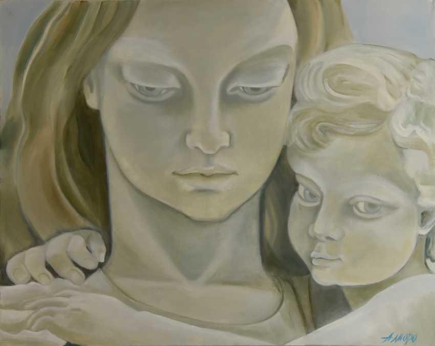 """Alla \almoro\ Morozova. """"MOTHER AND CHILD"""" - photo 1"""