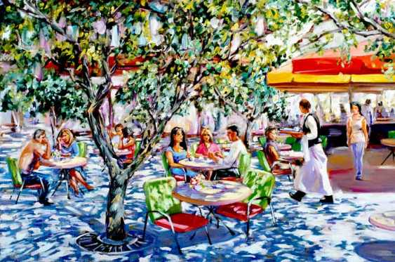 Roman Fedosenko. Summer cafe - photo 1