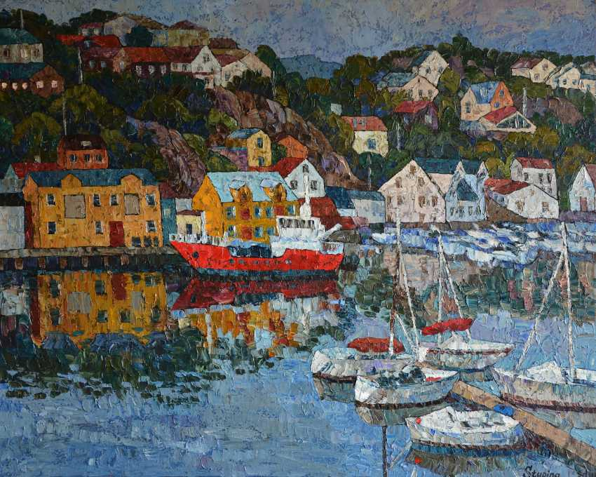 Nadezda Stupina. Boats of Kristiansund - photo 1