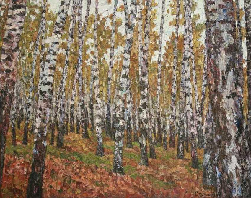 Nadezda Stupina. Birches - photo 1