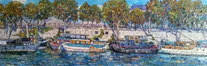 Nadezda Stupina. Diptych_Boats of Paris 1 - photo 1