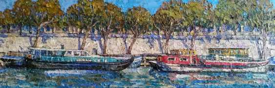 Nadezda Stupina. Diptych_Boats of Paris 2 - photo 1