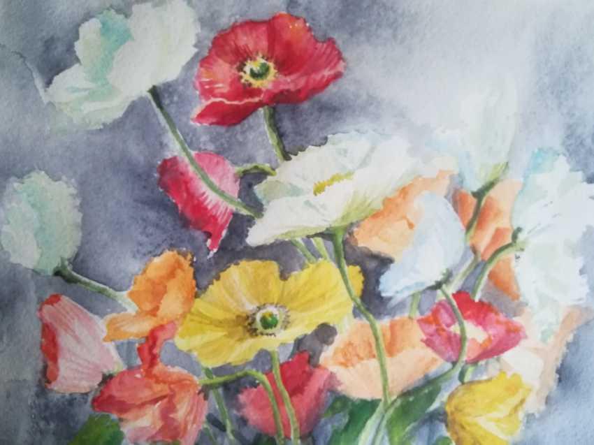 Anastasiia Khaliova. Poppies / Poppies - photo 1