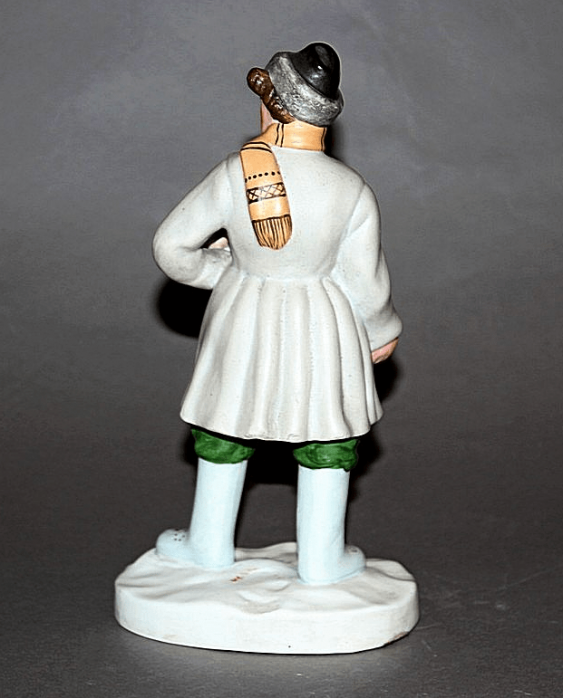 "Figurine ""Accordion"" Dmitrovskaya porcelain factory , 1930 - ies - photo 2"
