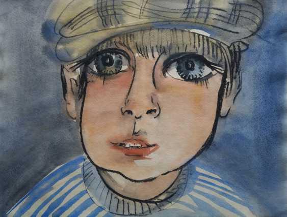 Alexandra Pretro. Portrait of a Jewish boy - photo 1