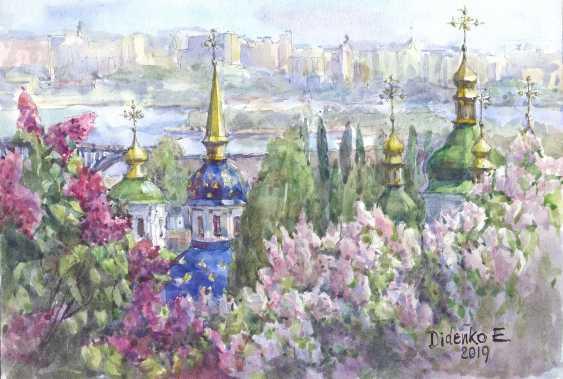Elena Didenko. Kiev.Vydubetskiy monastery. - photo 1
