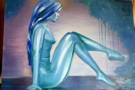 """Alla \almoro\ Morozova. """"WOMAN OF WATER"""" - photo 1"""